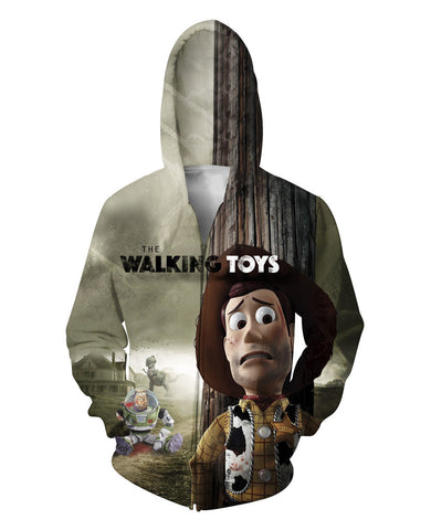 The Walking Toys Zip-Up