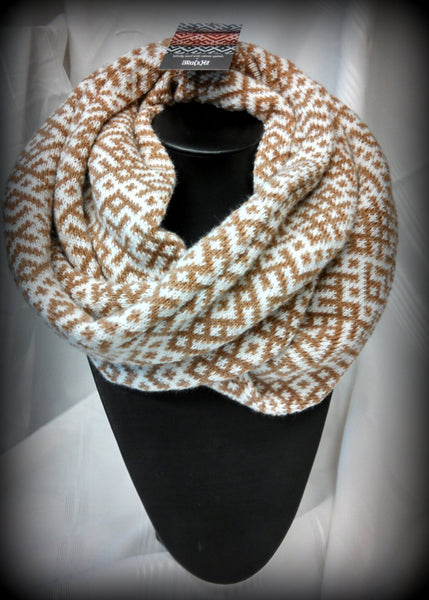 Infinity scarf - Brown