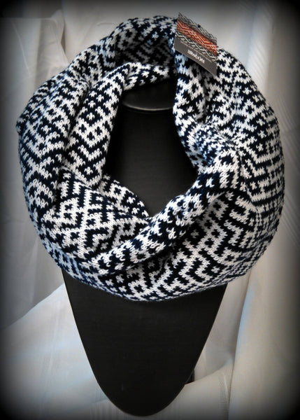 Infinity scarf - Navy blue