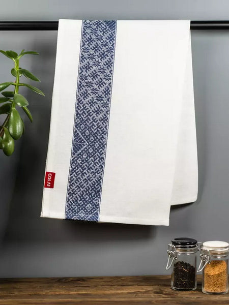Tea towel - Blue / narrow - 46cm * 100cm