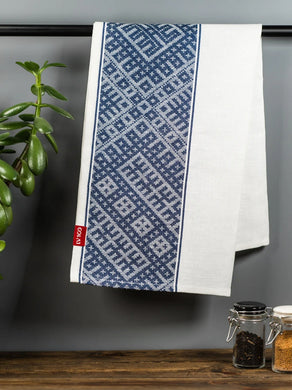 Tea towel - Blue / wide - 40cm * 70cm