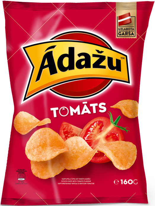 CURBSIDE PICKUP ONLY - Potato chips with tomato flavour
