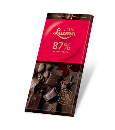 Bitter chocolate - 87% 100g