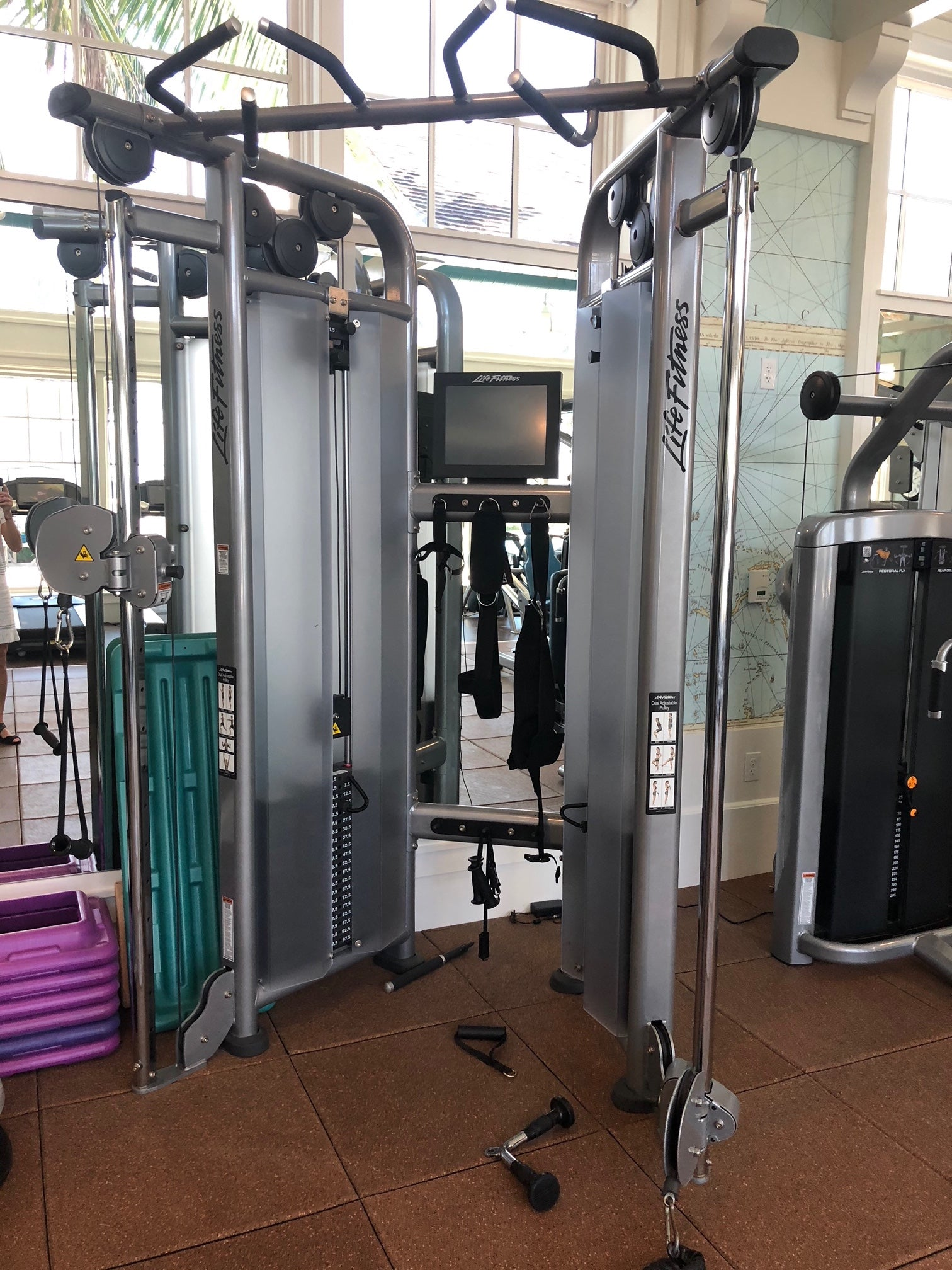 life fitness multi station DAP dual adjustable pulley strength equipment