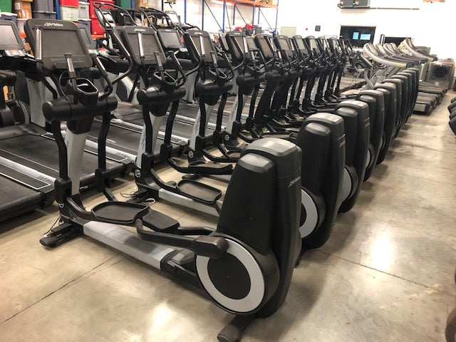 life fitness se console discover pre owned elliptical fitness equipment