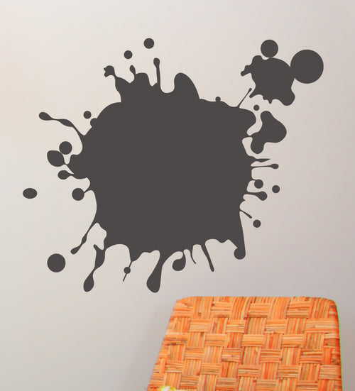 Chalkboard Splatter Stickers