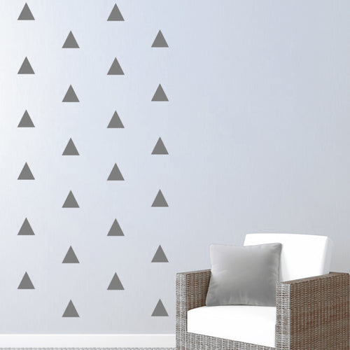 Triangles Pattern Wall Decal