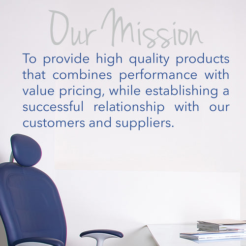 Mission Statement Wall Decal