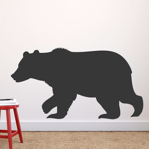 Bear Chalkboard Wall Decal