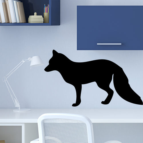 Fox Chalkboard Wall Decal