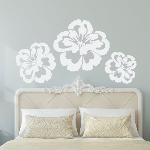 Tropical Giant Flower Wall Decal