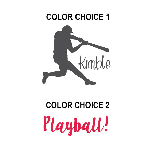 Play Ball Personalized Kids Wall Decal