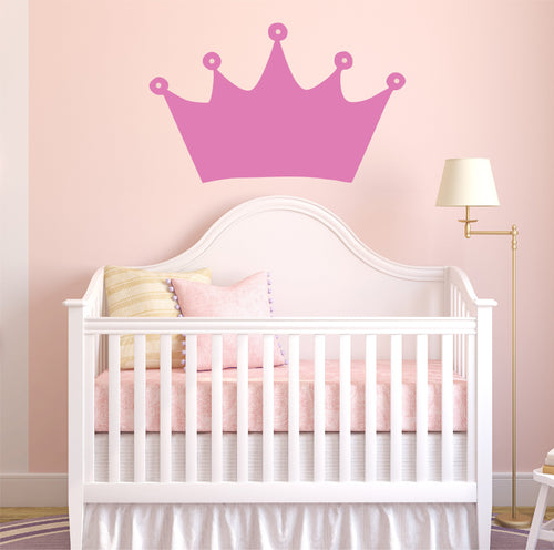 Princess Crown Kids Wall Decal