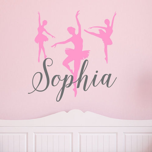 Personalized Dance Kids Wall Decal