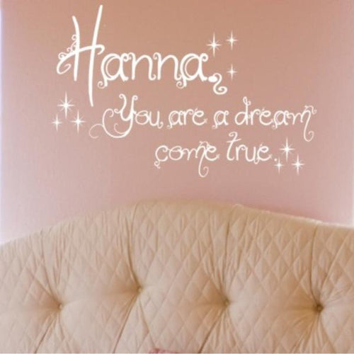 Dream Come True Kids Wall Decal