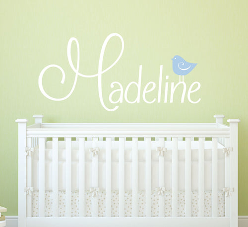 Cute Birdie Kids Wall Decal