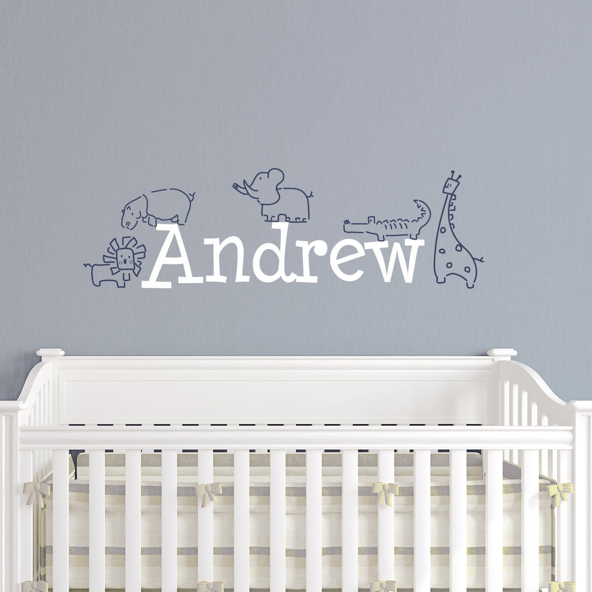 Jungle Animals Kids Wall Decal