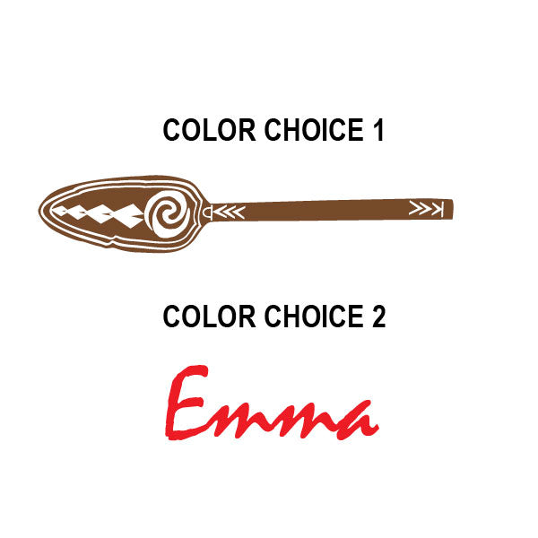 Moana Personalized Paddle Car Decal
