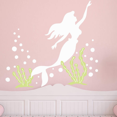 Mermaid Dreams Kids Wall Decals