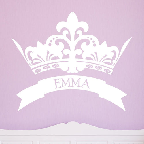 Royal Crown Kids Wall Decal