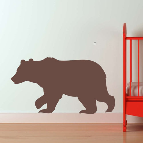 Woodland Bear Kids Wall Decal