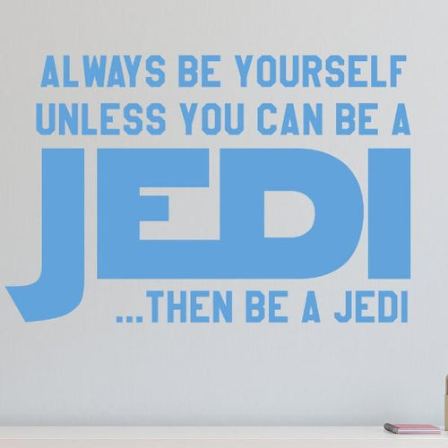 Be a Jedi Star Wars Kids Wall Decal