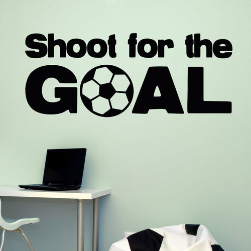 Soccer Sport Goals Kids Wall Decal