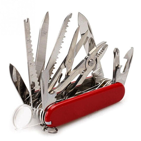 Multi-Functional Swiss Army Style Pocket Knife