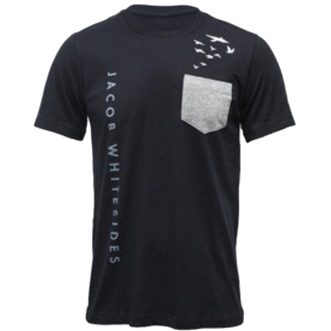 2015 Black Pocket Tour Tee