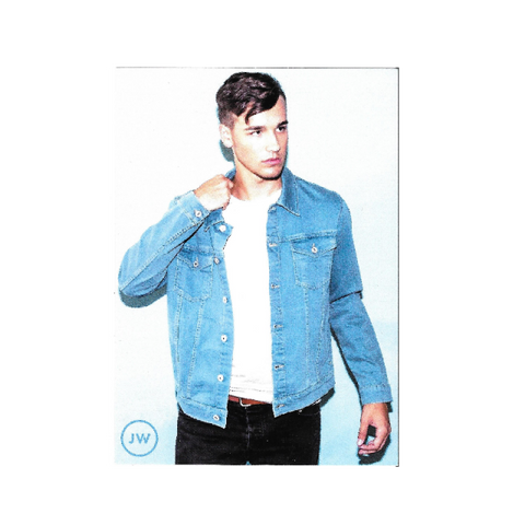 5x7- Denim Jacket Photo