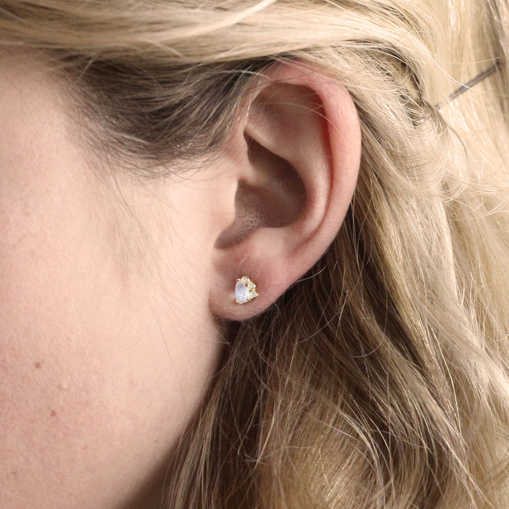 tiny dainty earrings