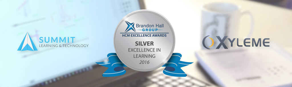 Summit Learning & Technology and Xyleme, Inc. win a Brandon Hall Group Silver Award for Excellence in Learning