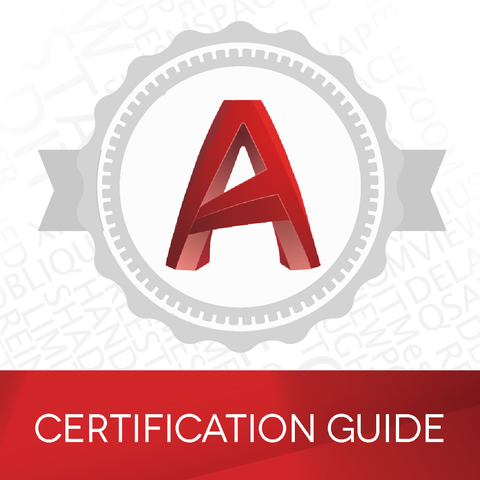 Autodesk Certification Guides w/Practice Exam - Vouchers