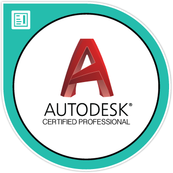 ACP Badge Sticker - AutoCAD