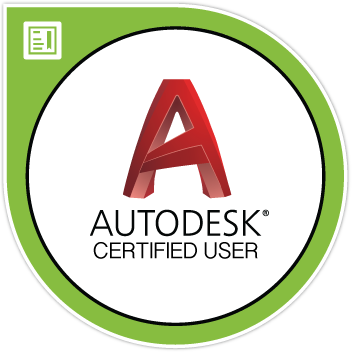 ACU Badge Sticker - AutoCAD