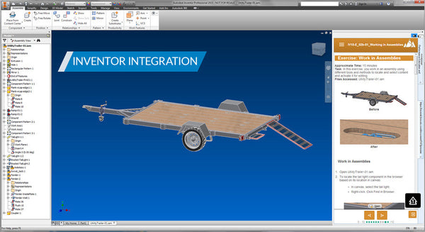 Assembly Modeling in Autodesk Inventor 2017