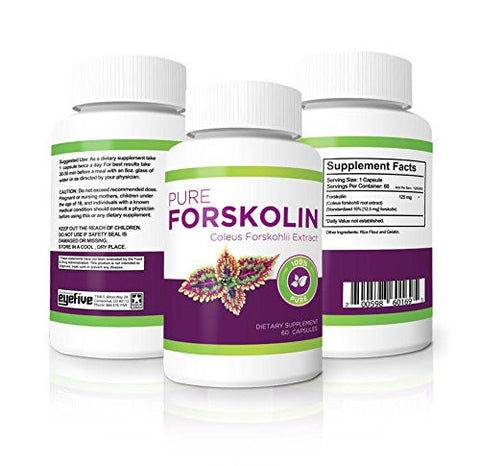 Powerful Coleus Forskohlii Extract. Fat burning appetite suppressant and weight loss supplement