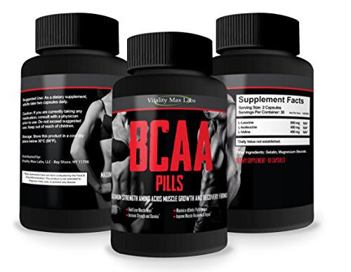 Branched-Chain Amino Acids for advanced muscle growth, metabolism and recuperation.