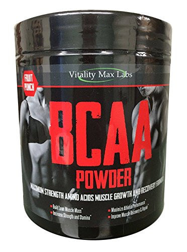 Branched Chain Amino Acids (BCAAs) for strength training and recovery.