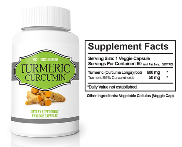Turmeric Curcumin with 95% Curcuminoids