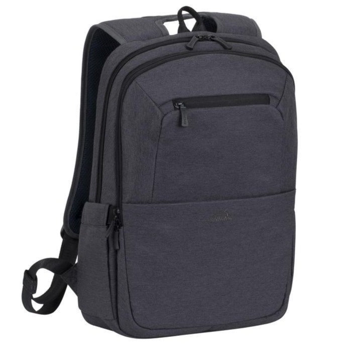 RivaCase 7760 Black Laptop backpack 15.6