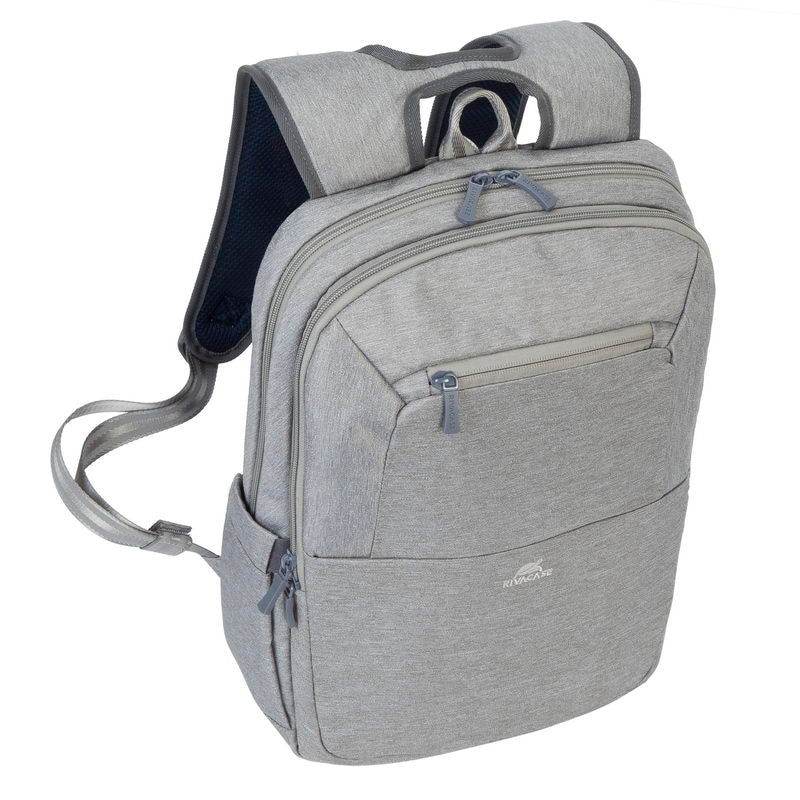 RivaCase 7760 Grey Laptop backpack 15.6