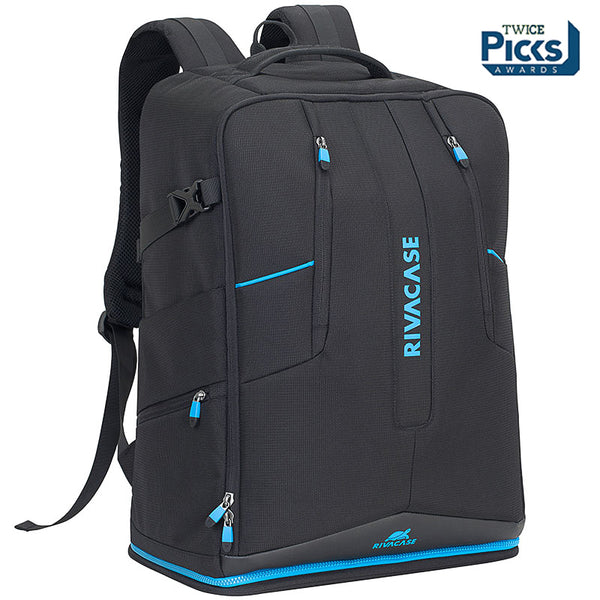 RivaCase 7890 black Drone Backpack large for 16 laptop