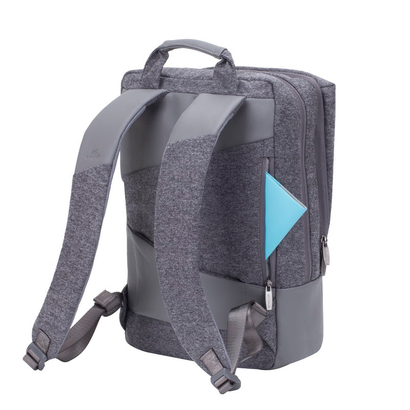 RivaCase 7960 Grey MacBook Pro and Ultrabook backpack 15.6