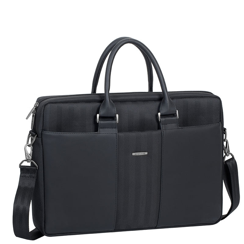 RivaCase 8135 black Laptop business attaché 15.6