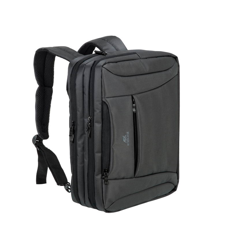 RivaCase 8290 black convertible Laptop bag/backpack 16