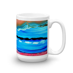 Mug, artwork by Luke