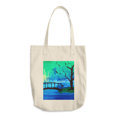 Cotton Tote Bag | Artwork by Cheryl
