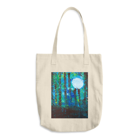 Cotton Tote Bag | Artwork by Brock