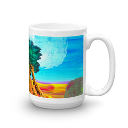 Mug, artwork by Brock